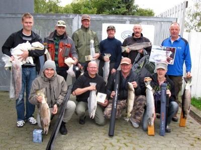 Alle vindere Seatrout Open efterår 2011