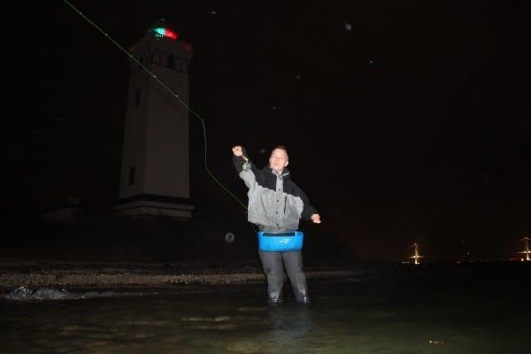 Natfiskeri på fyn efter havørred