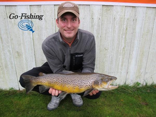 Dennis flynder fiskerkonkurrence havørred kysten fyn