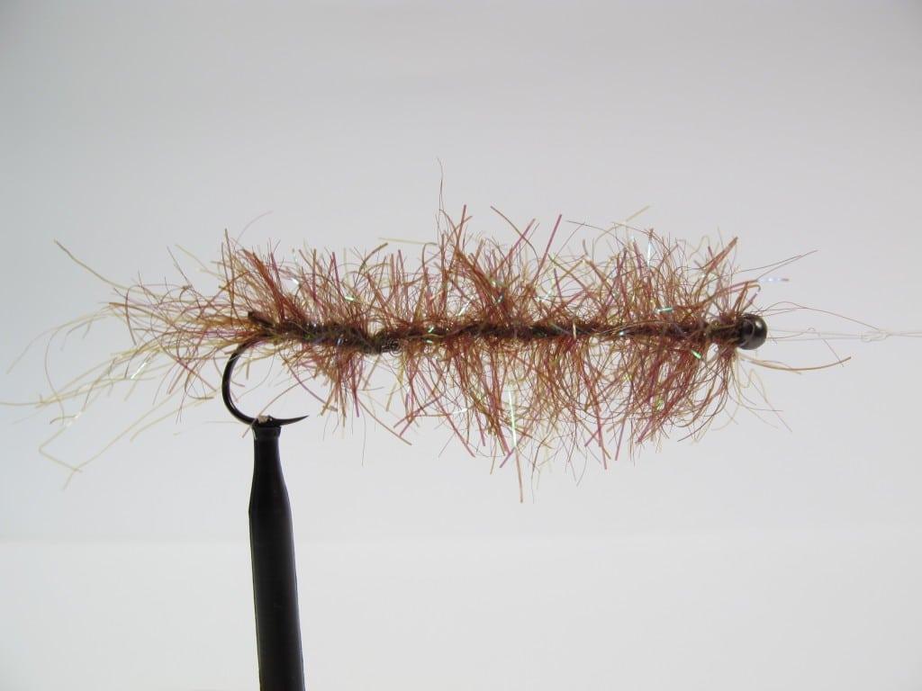 alive børsteorm imitation til kystens havørred, kystflue