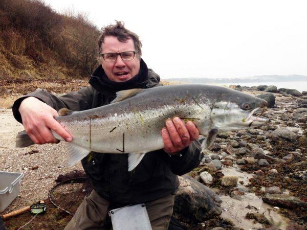 Peder Kristensen 72 cm 5,34 kg Vinderfisken STO fiskekonkurrence