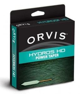 wf flueline orvis til multefiskeri orvis hydros powertaper