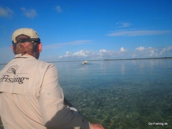 På vej mod dagens bonefish eventyr