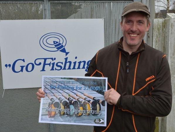 Frank Pedersen Gavekort på kr. 22.000,- til Go Fishing