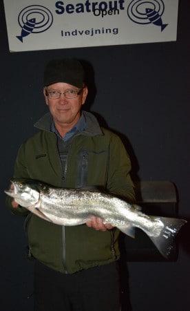 Johnny Bækmand fra skive.. 3. kast - Havørred 2,75 kg. og 61,5 cm. !