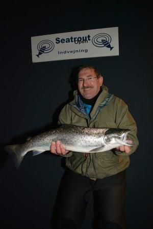 Bernd Kiegl Havørred på 2,9 kg. og 65 cm. Fanget på Wobler - Østfyn