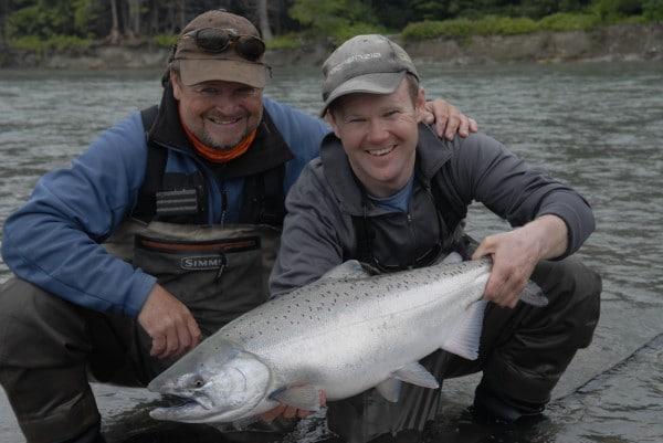 king salmon Kitimat River getaway tours