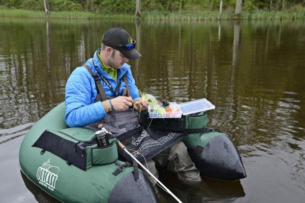 geddefiskeri med flue fluefiskeri efter gedder gedder på flue kursus