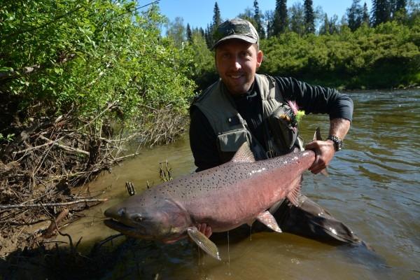 alaska fishing for salmon jesper go fishing fiskerejser