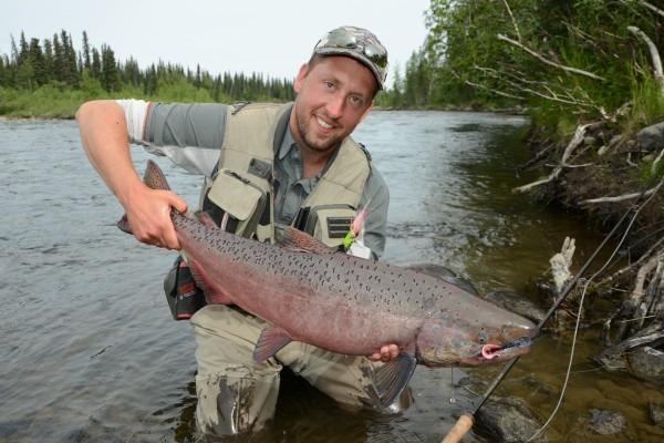 king salmon alaska floattrip getaway tours jesper lindquist andersen go fishing