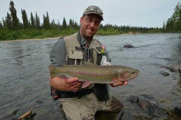 rainbow trout alaska flyfishing trips jesper lindquist andersen getawaytours