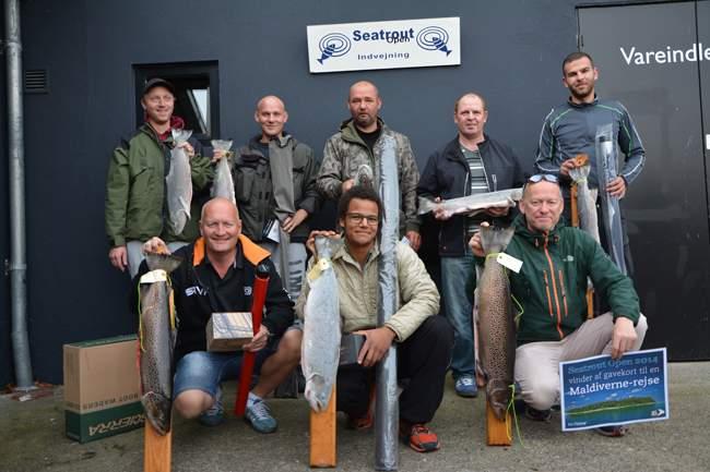 De stolte vindere af STO Konkurrence