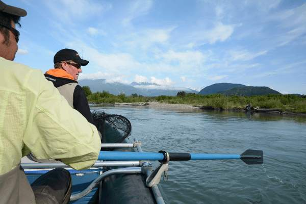 floattrip canada kitimat river B.C. Salmonfishing fiskerejse
