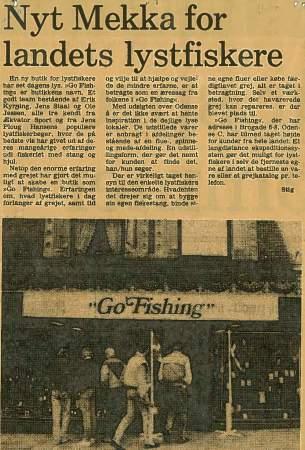 """Avis artikel fra Odense Posten 1988. """"Et langdistance ekspeditionssystem"""" var åbentbart datidens bedste ord for postordre salg"""