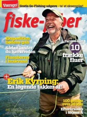 I 25 år har jeg øvet mig i at kaste med flue ligeså godt som min gamle kollega Erik Kyrping - mon ikke jeg er ved at være halvvejs...