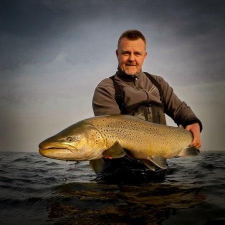 Thomas Hansen, kæmpe odense fjord havørred