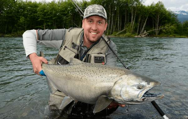chinook Kingsalmon Kongelaks Jesper Lindquist Andersen Fiskerejse Canada