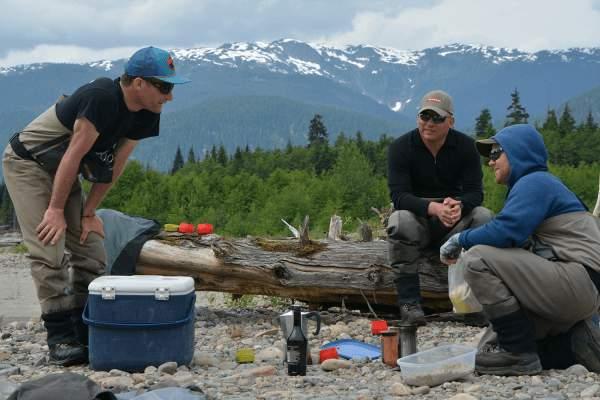 chinook fishing Kitimat river british Columbia