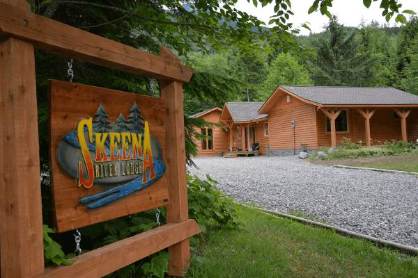 Skeena River Lodge chinookfishing british columbia